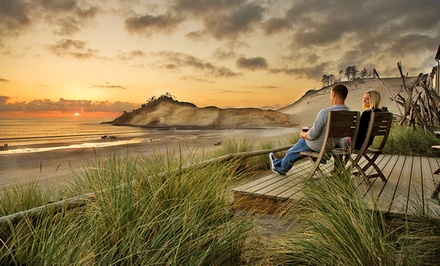 2-Night Stay for Four or Six at The Cottages at Cape Kiwanda in Pacific City, OR