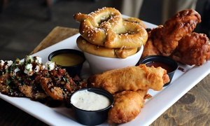 $30 Value or Meal and Beer Flight for Two at Hobnob (Up to 53% Off)