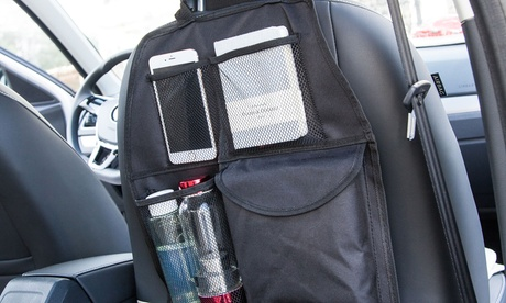 Two Multi-Pocket Back Seat Organisers