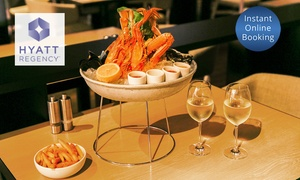 The Sailmaker Hyatt Regency: Seafood Platter with Wine or Beer for Two ($49) or Four People ($95) at The Sailmaker Hyatt Regency (Up to $218 Value)