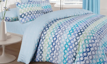 Pieridae Duvet Set with Fitted Sheet