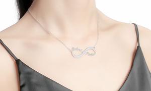 Justyling - Collane personalizzabili: Una o 2 collane personalizzabili in argento con simbolo infinito o barra offerte da Justyling (sconto 80%)