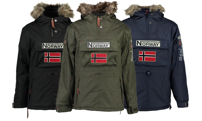 jusqu'à 60% Parka Geographical Norway Homme | Groupon