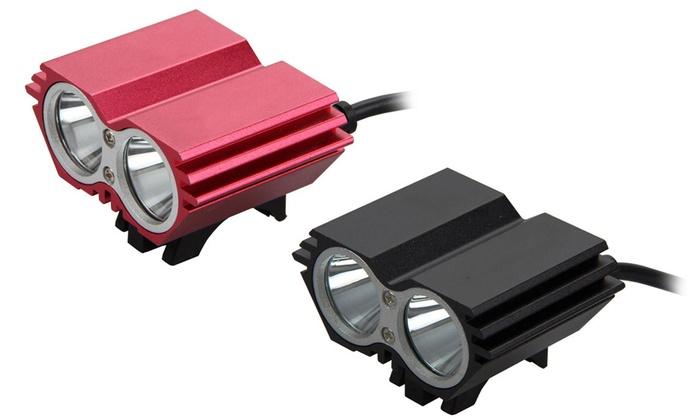 led fahrradlampe mit 5000 lm groupon goods. Black Bedroom Furniture Sets. Home Design Ideas