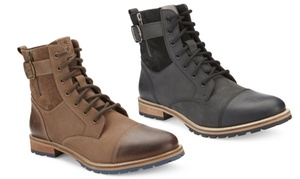 Reserved Men's Kenton Leather High-top Boot