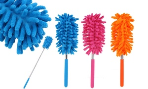 Handy Microfiber Duster for Car and Household Cleaning (1- or 2-Pack)
