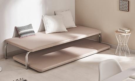 Juego de bases para cama tapizadas canguro