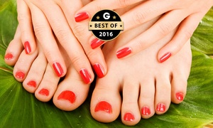 All Covered Beauty: $19 for a Gel Manicure or Pedicure, or $35 for Both at All Covered Beauty, Holden Hill (Up to $95 Value)