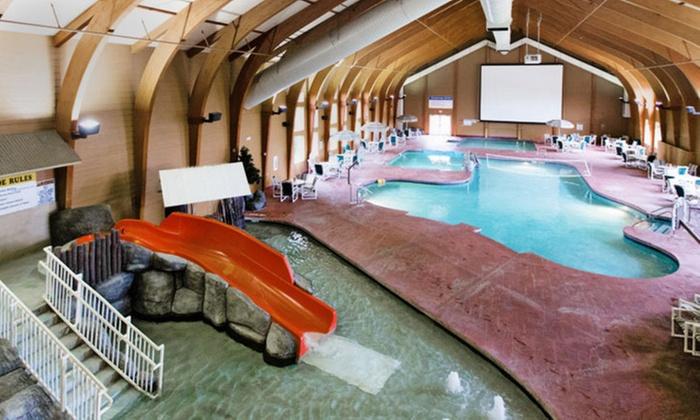 Wisconsin Lodge with Indoor Aquatic Park