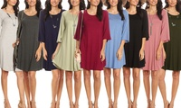 Nelly Women's Tunic Dress (Multiple Options)