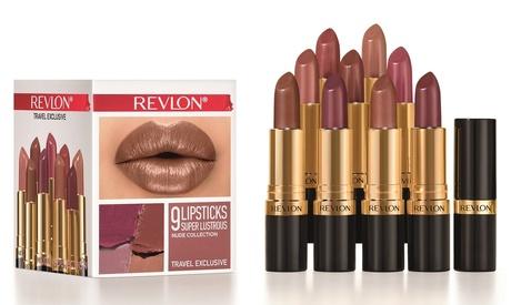 1 o 2 sets de 9 barras de labios Revlon