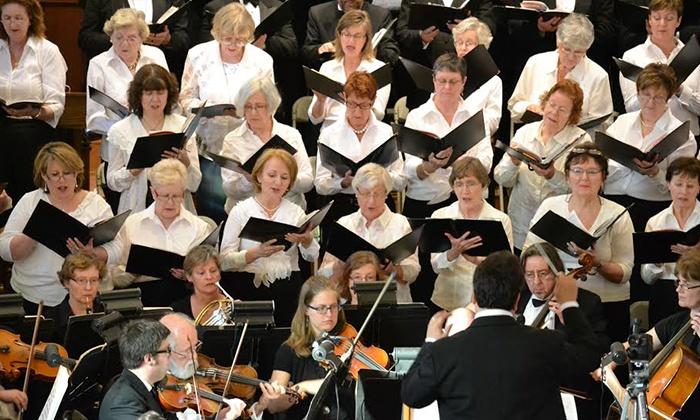 Masterworks of Oakville Chorus & Orchestra presents Poulenc GLORIA, Stravinsky SYMPHONY OF PSALMS, Demuynck ALERION - St. Matthews Roman Catholic Church: Masterworks of Oakville Chorus & Orchestra at St. Matthew Roman Catholic Church on May 23–24 (Up to 42% Off)