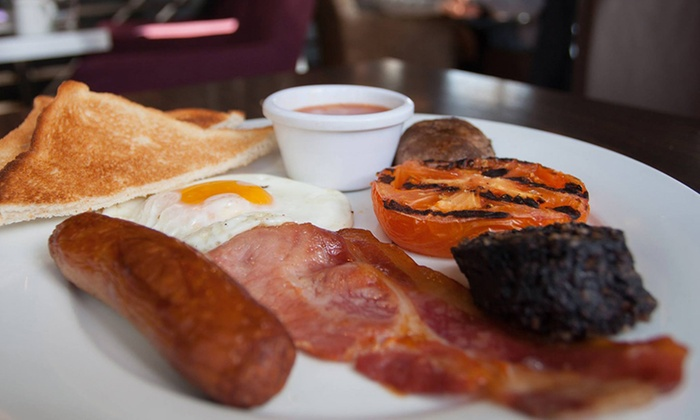 Gallaher and Co Bistro - Gallaher and Co Bistro: Gallahers Breakfast with Any Tea or Coffee at Gallaher & Co Bistro & Coffee House (Up to 50% Off)