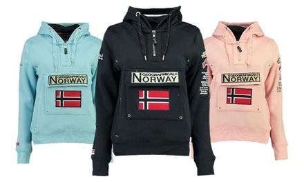 Sudadera con capucha para mujer Geographical Norway