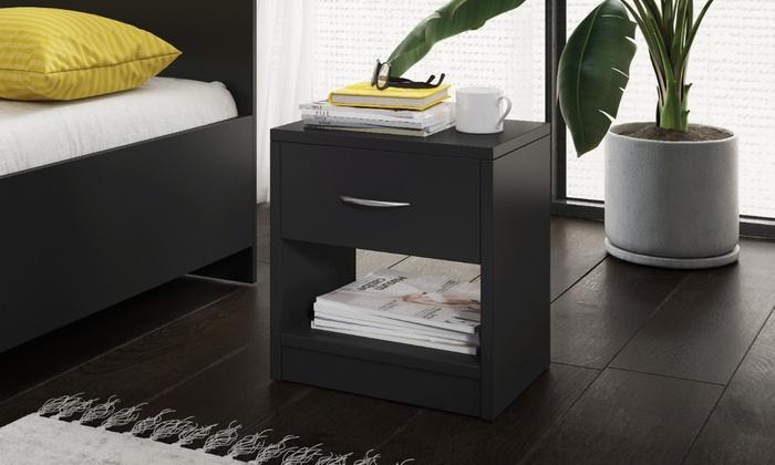 Alfa One-Drawer Nightstand