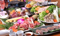 【44%OFF】集まれ、馬肉好き≪九州桜肉コース全7品+飲み放題180分 / 1名分 or 4名分≫ @九州居酒屋 無法松 西院店