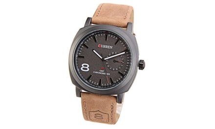 Curren Men's Sport Military Water Quartz Watch for £8.99