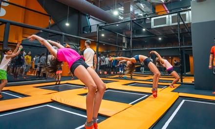 1 hora y media de saltos en camas elásticas para 1, 2 o 4 en Urban Planet Jump Metromar (hasta 42% de descuento)