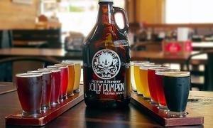 55% Off Beer Sampler and Growler at Jolly Pumpkin Artisan Ales at Jolly Pumpkin Grand Rapids, plus 6.0% Cash Back from Ebates.