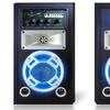 Technical Pro Portable Dual Karaoke Bluetooth Speaker System