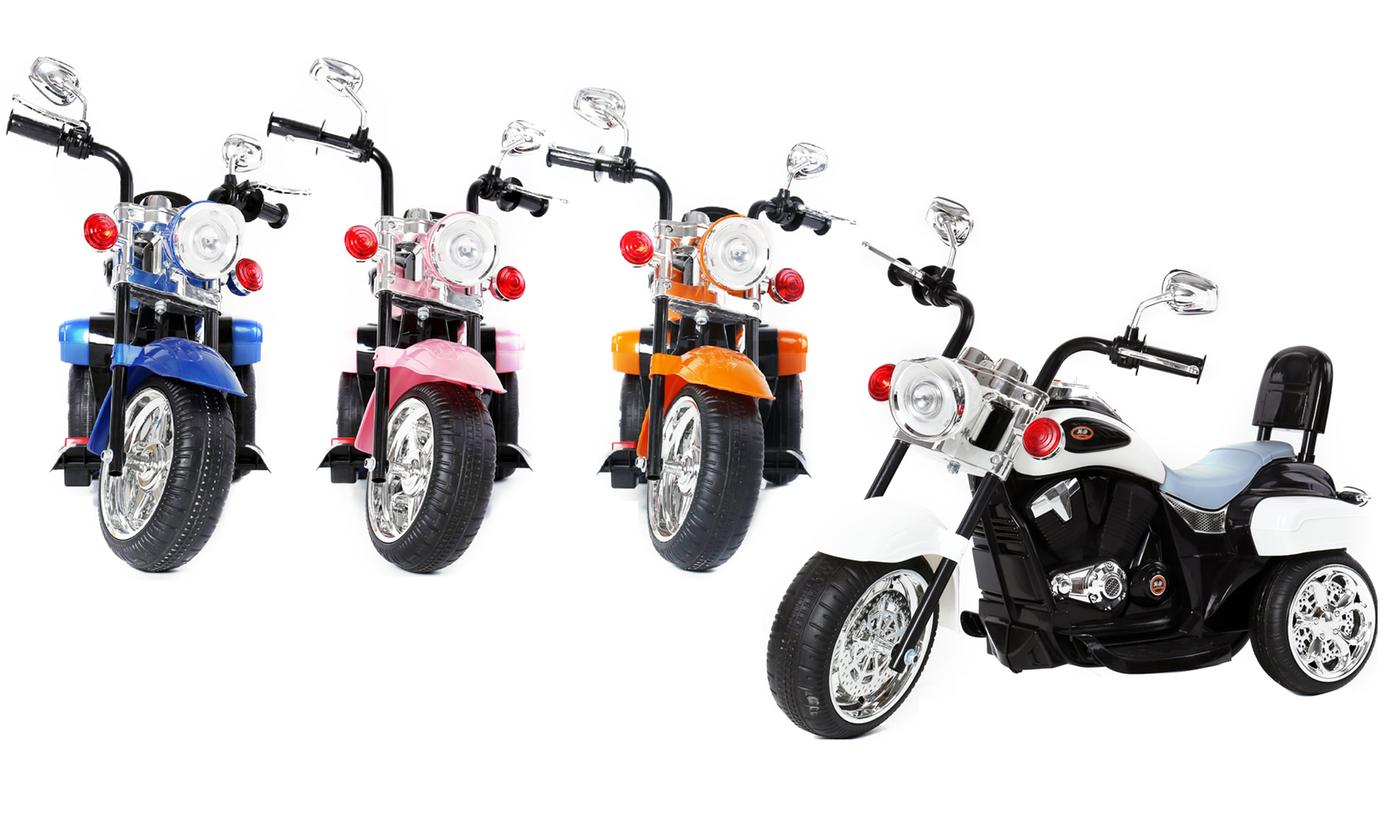 Kids' Electric Ride-On Chopper With Free Delivery