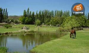 Cabaña Caprina: Desde $179 por día de campo para uno o dos con parrilla + set de mate + actividades recreativas en Cabaña Caprina