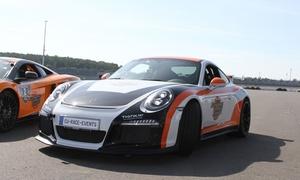 European Race Events: 30, 60 oder 90 Min. Porsche GT3-991 selber fahren sowie 10 Min. Einweisung mit European Race Events (bis zu 58% sparen*)