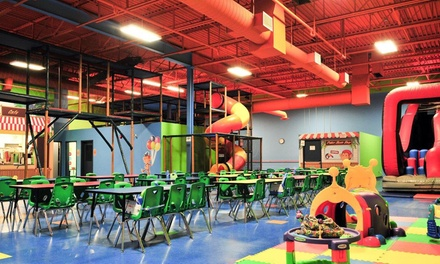 Up to 50% Off play area at Monkey Around Play & Learn Centre
