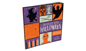 Decorate Your Halloween Adult Coloring and Crafts Book