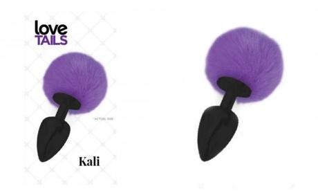 Kali Purple Pom Pom Silicone Medium Anal Plug 7bf7a914-06c5-11e8-ad78-002590604002
