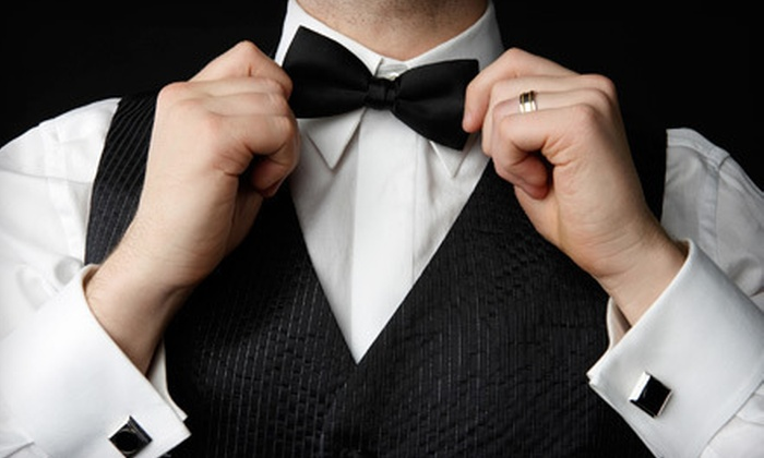 Valente's Men's Formalwear - Valente's Formalwear: Tuxedo Rental or Purchase at Valente's Men's Formalwear (Up to 54% Off)