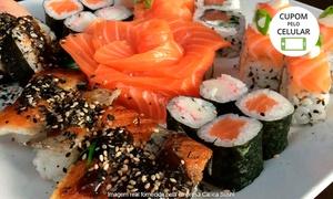 Oyabun Sushi Bar: Oyabun Sushi Bar – Jardim Botânico: crédito de R$ 100 ou R$ 150 para almoço e jantar com bebidas