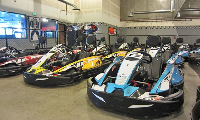 SB Raceway - South Pointe: Three Same-Day Go-Kart Races for One or Two People at SB Raceway (Up to 39% Off)