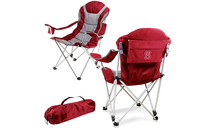 PICNIC TIME NCAA Reclining Camp Chair