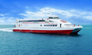 FRS Caribbean: One-Day, Round-Trip Ferry from Miami to Bimini, Bahamas with Meals from FRS Caribbean (Up to 48% Off)
