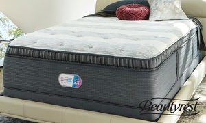 "Beautyrest Platinum 16"" Pillowtop Mattress. Free White Glove Delivery."