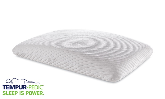 tempur pedic essential support pillow groupon. Black Bedroom Furniture Sets. Home Design Ideas