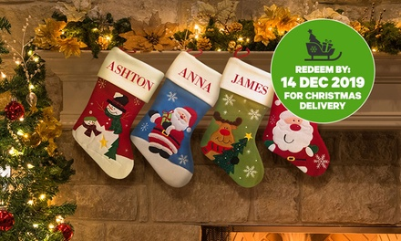 From $17.99 for Personalised Christmas Stockings (Don't Pay up to $199.95)