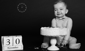 Saaf Photography: Personalised Digital Image - New Born Milestone from Saaf Photography (80% Off)
