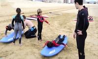 1 o 2 clases de surf de 2 horas para una, dos o cuatro personas desde 16,90 € en Bm Surf School