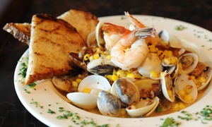 Cajun and Creole Food for Two or More at The Bayou (44% Off)