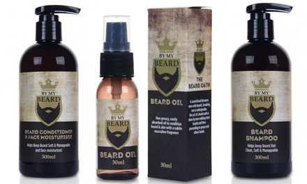 By My Beard Triple Pack, Shampoo, Oil or Conditioner