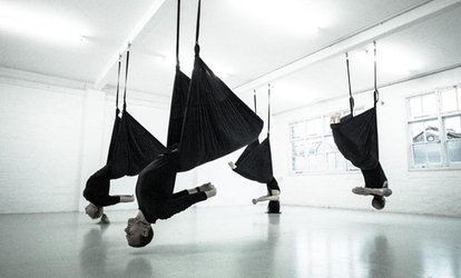 image for One, Three or Five Aerial Yoga Classes at Suspension Yoga UK (Up to 64% Off)