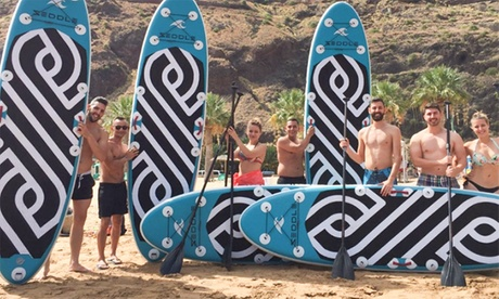 Travesía stand up paddle para 2 o 4 con opción a experiencia en big sup desde 19,95 € en Tenerife Paddleboard Oferta en Groupon