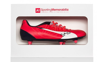 Sergio Aguero-Signed Puma Football Boot With Free Delivery