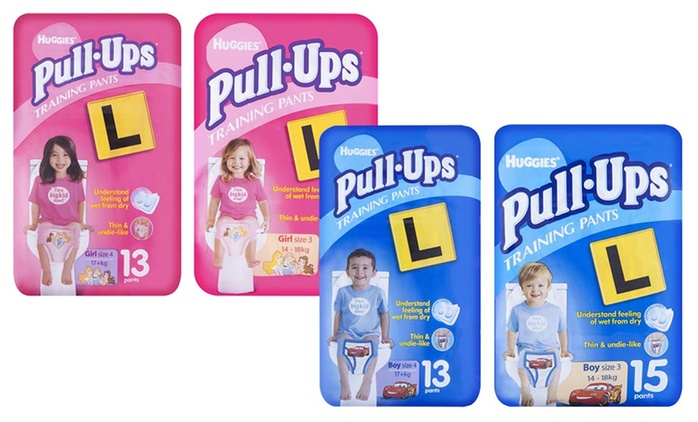 $29 for 78 or 90 Huggies Pull-Ups Training Pants for Boys or Girls (Don't Pay up to $77.94)