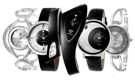 Relojes para mujer Sc Crystal adornados con cristales de Swarovski®