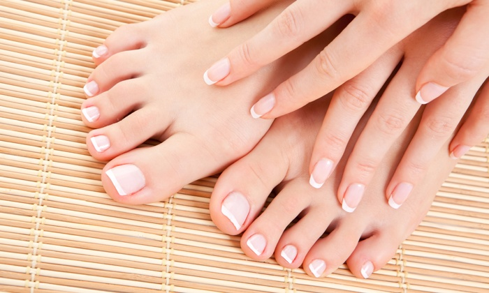 Lacquered Up Nails - Salon Suites of West Carmel: One or Two Groupons, Each Good for One Mani-Pedi at Lacquered Up Nails (Up to 51% Off)