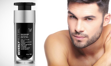 One, Two or Three 30ml Bottles of Beverly Hills Liquid Miracle Instant Facelift and Eye Tuck for Men