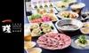 Foodiun Bar 一瑳(いっさ)関東5店舗対象|食べ放題など3メニュー